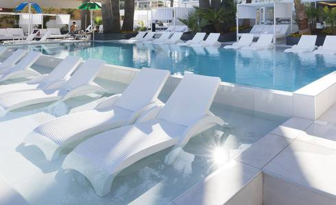 OUTDOOR SWIMMING POOL Mallorca Senses Palmanova 4**** Sup - Adults Only (+16) Hotel in Majorca