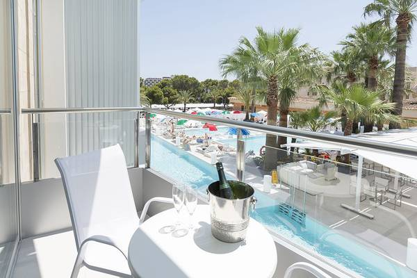 SWIMMING POOL VIEW Mallorca Senses Palmanova 4**** Sup - Adults Only (+16) Hotel in Majorca