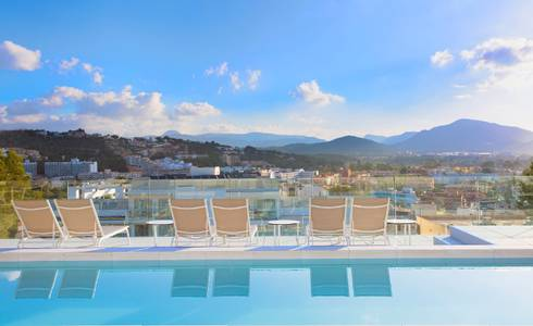 Sky pools Mallorca Senses Santa Ponsa, 4 star Adults Only (+16) Hotel in Majorca